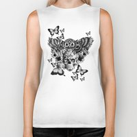 Lost And Found, Floral O… Biker Tank