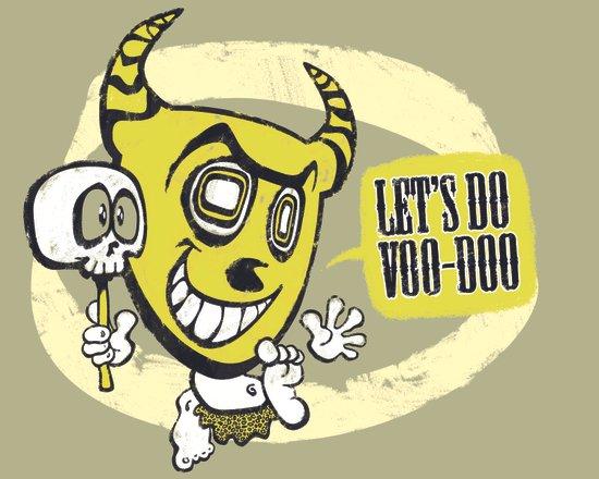 lets do voodoo Art Print