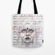Queen Of Diamonds On She… Tote Bag