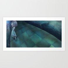 Darling Girl Art Print