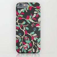 iPhone & iPod Case featuring Minty Pinky Branches by Cola82