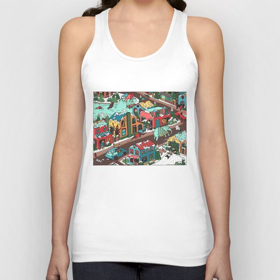 This Place is a Zoo! Unisex Tank Top