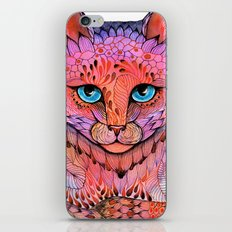 SUNSET CAT iPhone & iPod Skin