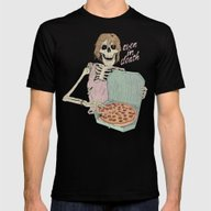 Even In Death Mens Fitted Tee Black SMALL