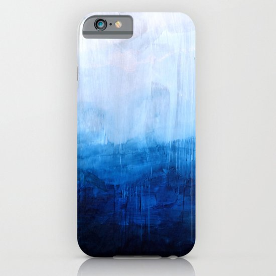All good things are wild and free - Ocean Ombre Painting iPhone & iPod Case
