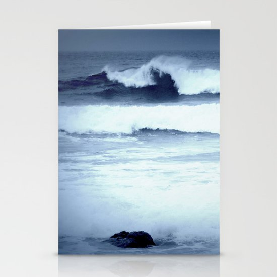 dancing waves Stationery Card