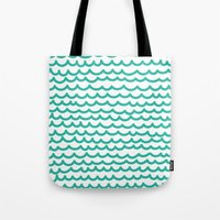 Squiggly Hand Drawn Line… Tote Bag