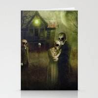 When the Dead Come Home Stationery Cards