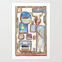 Pictures Art Print