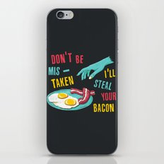 Bacon Thief iPhone & iPod Skin
