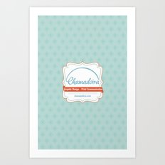 Chamadira's iPhone Case Art Print