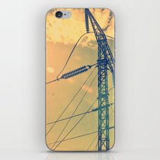 Holding The Power iPhone & iPod Skin