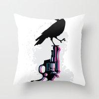 Death On Death Throw Pillow