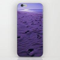 Purple Nights  iPhone & iPod Skin