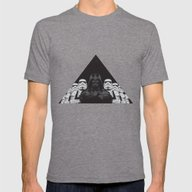 The Crew Mens Fitted Tee Tri-Grey SMALL