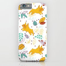 Frenchie Pattern Slim Case iPhone 6s
