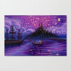 The Lantern Scene Canvas Print