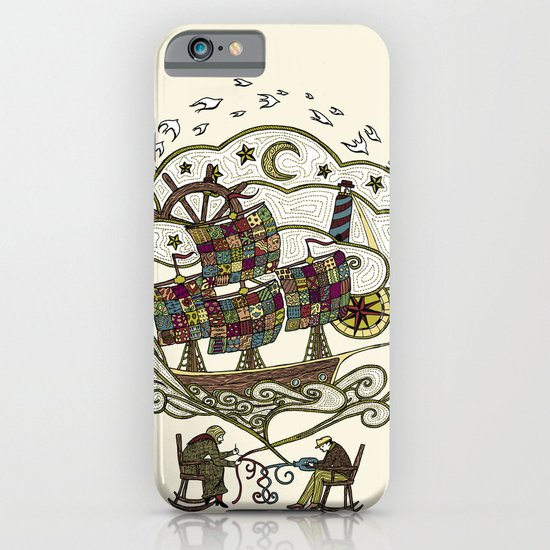 My Father was a Sailor, and My Mother, a Quilter iPhone & iPod Case