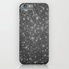 Logic Will Get You From Point A to Point B (Geometric Web/Constellations) iPhone 6 Slim Case