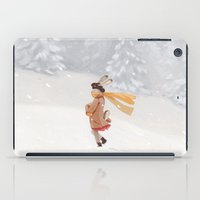 Snow storm iPad Case