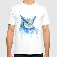 Color Hedwig  Mens Fitted Tee White SMALL