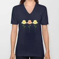 Kawaii Rose Friends  Unisex V-Neck