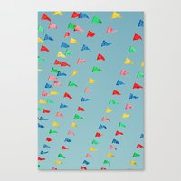 Flags Canvas Print