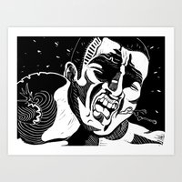 Glass Jaw Art Print