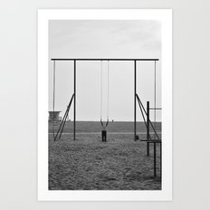 Stretch Armstrong Art Print