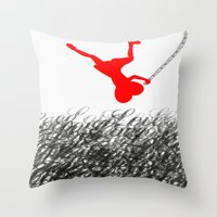 Falling In Love Throw Pillow