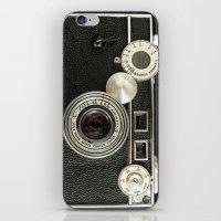 Vintage Range finder camera. iPhone & iPod Skin