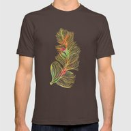 T-shirt featuring Feather by Klara Acel