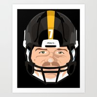 Faces- Pittsburgh Art Print