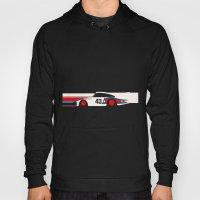 Moby Dick - Vintage Porsche 935/70 Le Mans Race Car Hoody