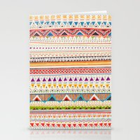 pattern Stationery Cards featuring Pattern by Sandra Dieckmann