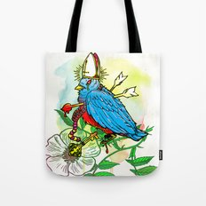 Bad Bad Birdy Tote Bag