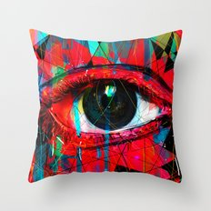 Useless Eyes Throw Pillow