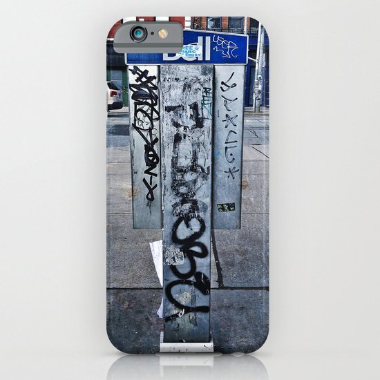 Phone Booths Have Seen Better Days iPhone & iPod Case