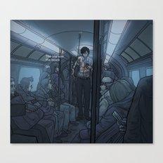The Tube Like That? Canvas Print