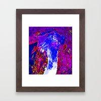 Eruption Framed Art Print
