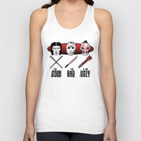Hockey Mask Evolution Unisex Tank Top