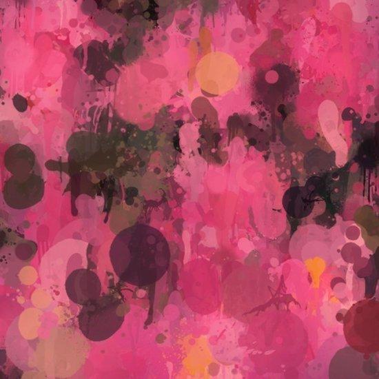 Color in revolt pink Art Print