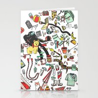 Packing List Stationery Cards