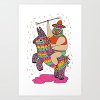 Pinata Party Art Print