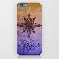 iPhone & iPod Case featuring Terra Incognita by Catlickfever Art