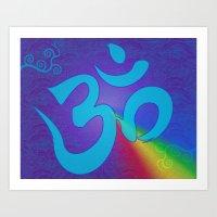 Mantra ... Aom Art Print