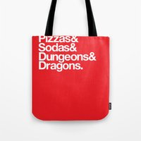 Dungeons & Dragons & Swa… Tote Bag