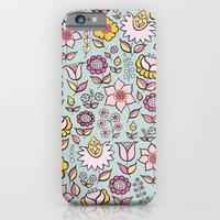 iPhone & iPod Case featuring Floral - happy colours by ArtByBeata