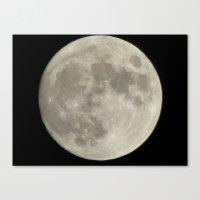 Moon 2015 II Canvas Print