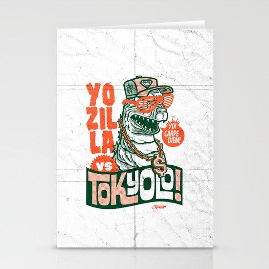 Tokyolo (YOZILLA variant) Stationery Card